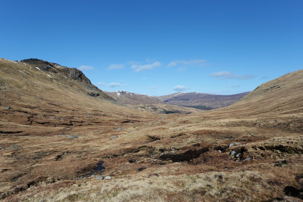 From the Lairig Luaidhe