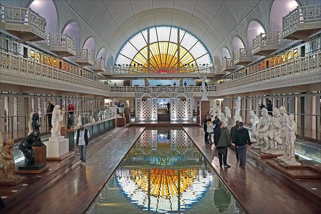 La galerie de sculptures (musée d'art et d'industrie, Roubaix)