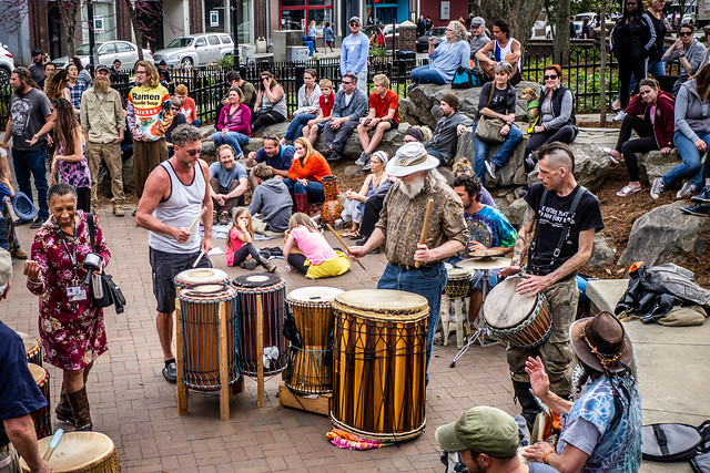Asheville Drum Circle-25