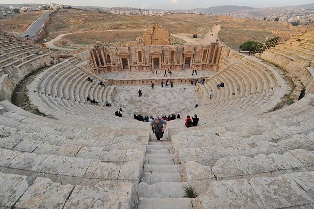 Southern Theatre, Jerash, Jordan, D700 January 2018 091