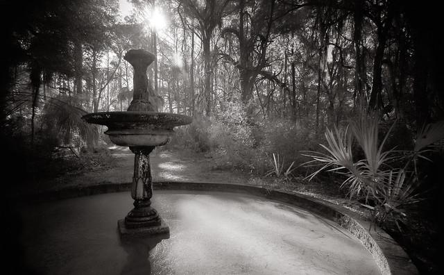 Light on the Fountain of Shadows