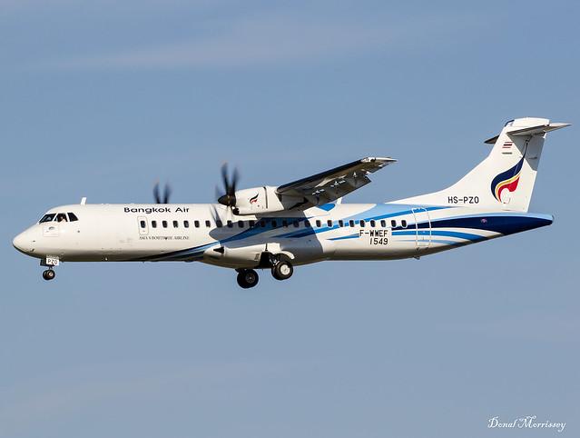 Bangkok Air ATR72-600 F-WWEF (HS-PZO)