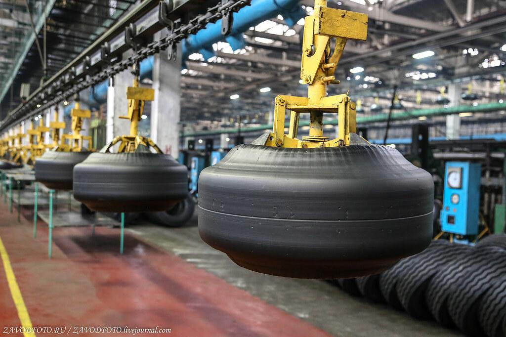 ТОП крупнейших шинных заводов России