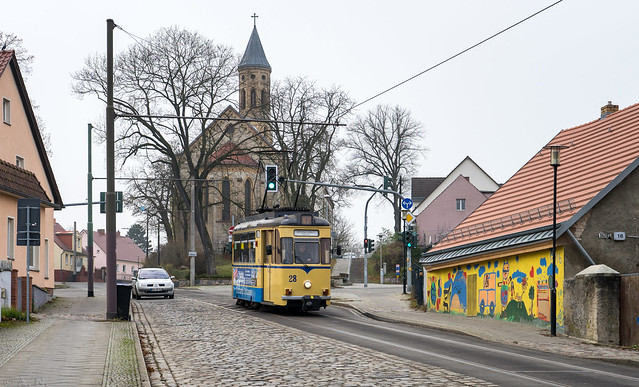 Woltersdorf tramway: small tram of a small town
