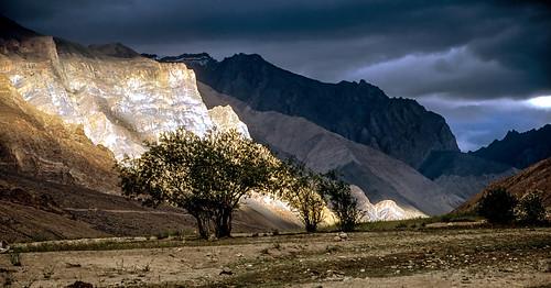 Down the Zanskar River.