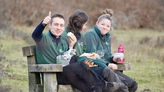 Lunch at Greenham (c) A R Wallington 2017