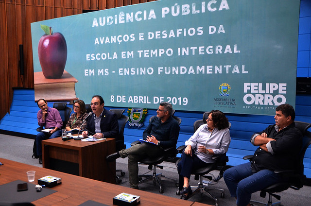 Audiência Pública - Escola em tempo integral em MS.