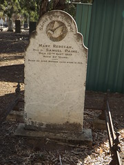 Mary Rebecca Paine, St Stephen's cemetery, Willunga