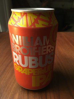 Williams Brothers, Rubus Grapefruit IPA, Scotland
