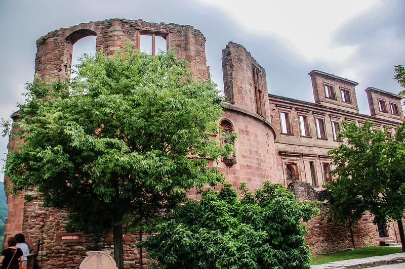 海德堡古堡的斷垣殘壁 3