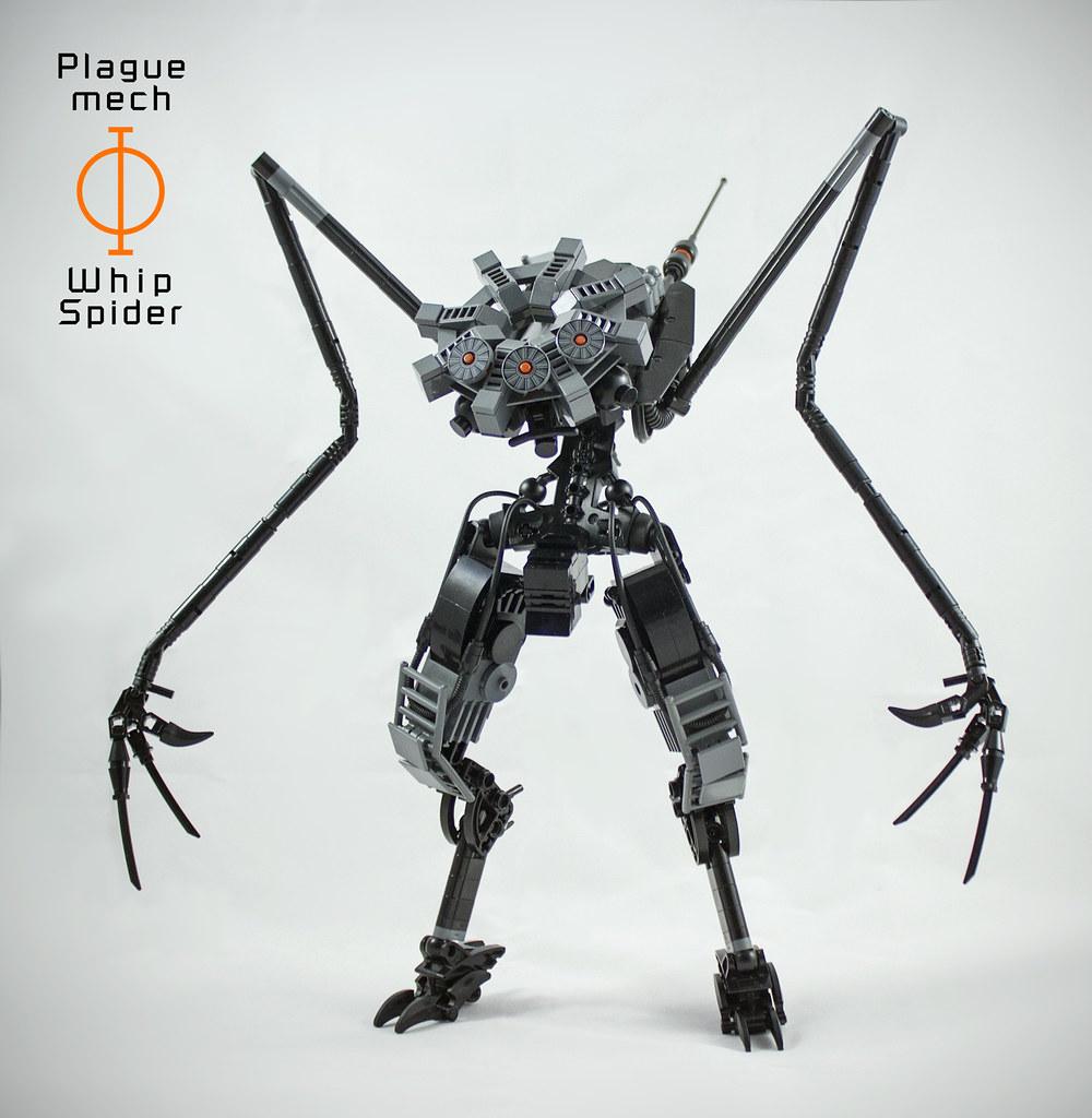 Whip Spider - Plague Mech: Phi