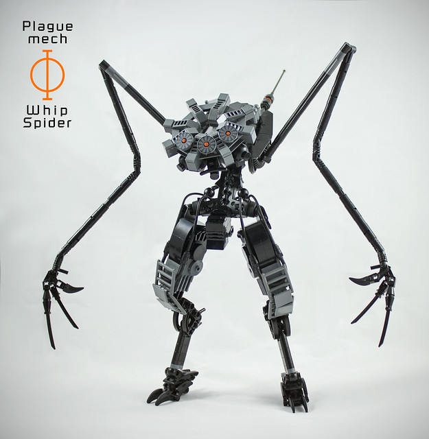 Whip Spider - Plague Mech: Phi