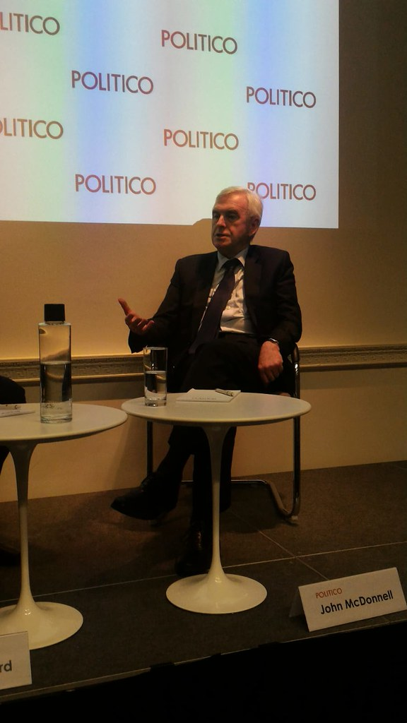 2019-02-13 | POLITICO London Playbook Live with John McDonnell, shadow chancellor of the exchequer