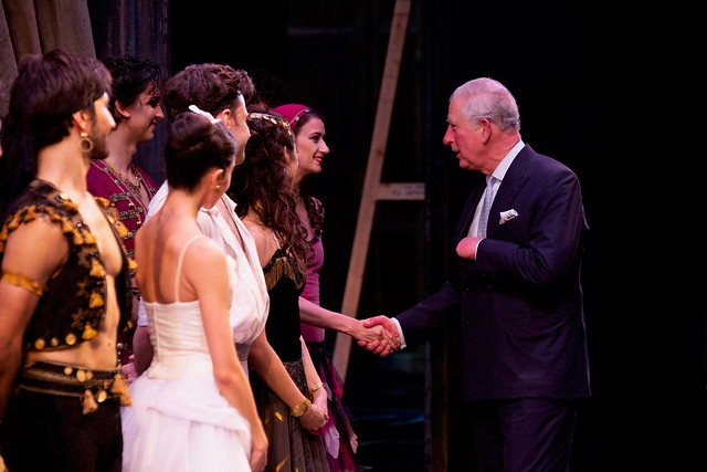 HRH The Prince of Wales visits the Royal Opera House to see The Cunning Little Vixen