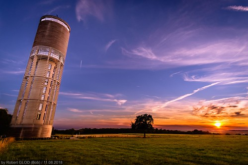 aquatower berdorf lu watertower architecture building construction dusk europe evening hdr highdynamicrange landscape landscapes luxembourg nightfall sunset sundown tower twilight water mullerthal hdri