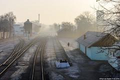 UZ - Haivoron (Гайворон) early morning, 17-02-2019