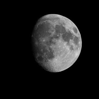 Lune Gibbeuse croissante 16février2019