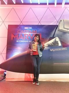 Captain Marvel   by annalyn