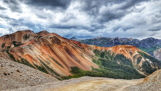 Red Mountain Corkscrew Pass, Colorado