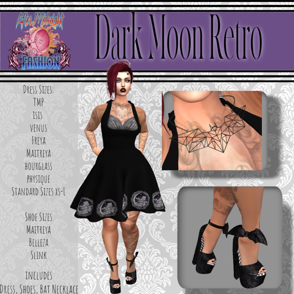 Dark Moon Retro