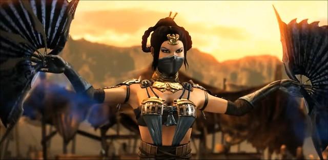 Mortal Kombat X Kitana Giriş