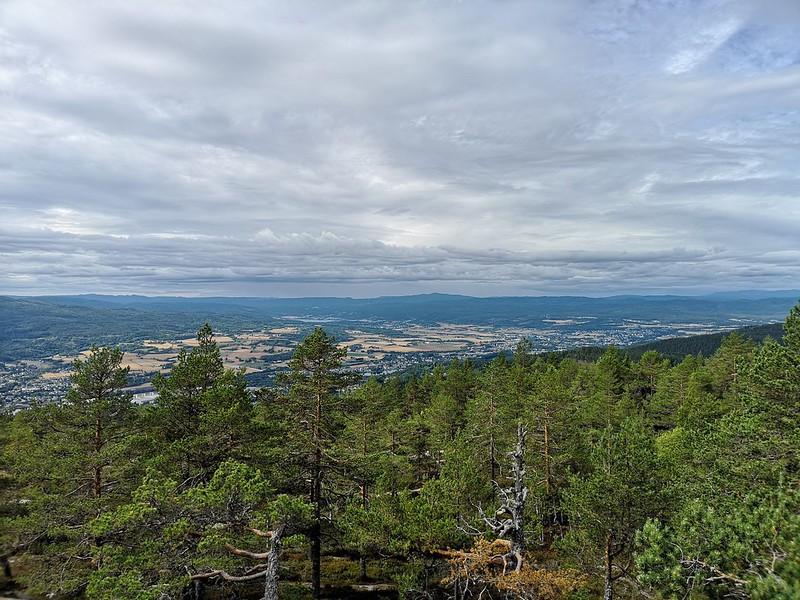 07-Utsikt mot Eiker fra Solbergvarden