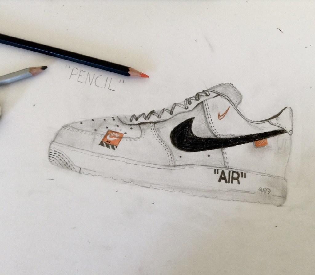 Nike AIR FORCE ONE off White   #Nike Whit#Off #Nike White