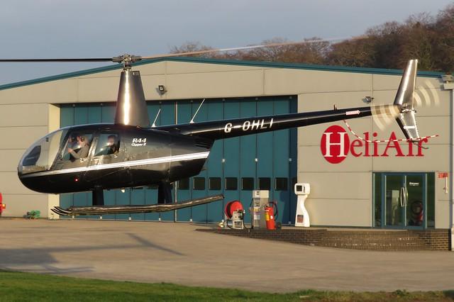 G-OHLI Wycombe Air Park 4 January 2019