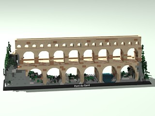 Pont du Gard LEGO