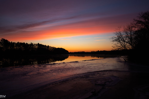merrimack river winter sunrise 6d massachusetts new england
