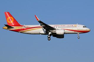 CHENGDU  AIRLINES / Airbus   A 320 SL   F-WWDL   msn 8784 / LFBO - TLS / fév 2019   by gimbellet