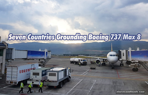 Seven Countries Grounding Boeing 737 Max 8 | by placesandfoods.com