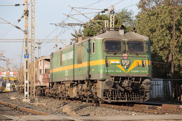 Indian Railways WAG-9 31970 Bhopal Junction