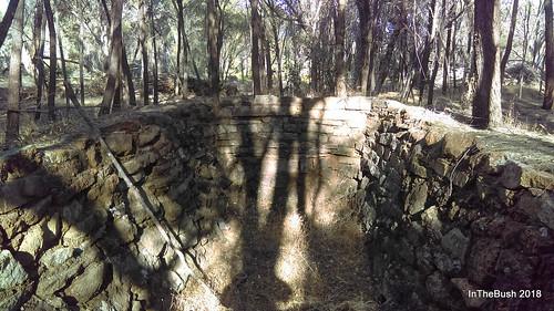 dwarda kiln charcoal abandoned disused heritage stonework