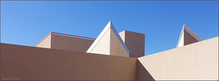 Centennial Science & Engineering Library Roofscape.   by newmexico51