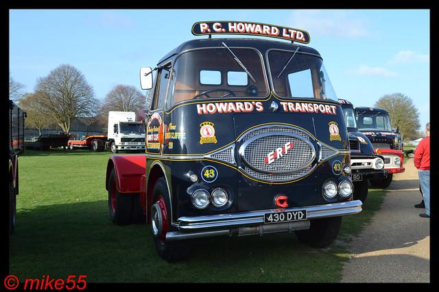 1959 ERF KV 'P.C. Howard Ltd' reg 430 DYD