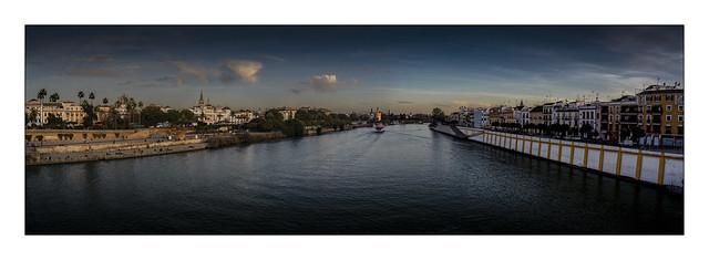 Sevilla at dusk