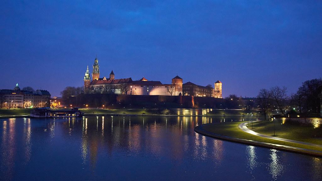 Вавельский замок в Кракове, Польша