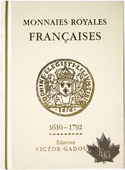 Monnaies Royales Françaises 1610-1792. book cover