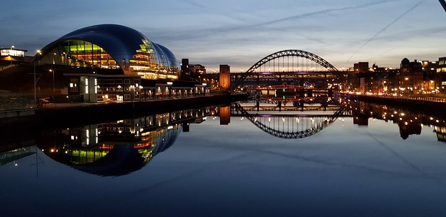 Newcastle and reflections