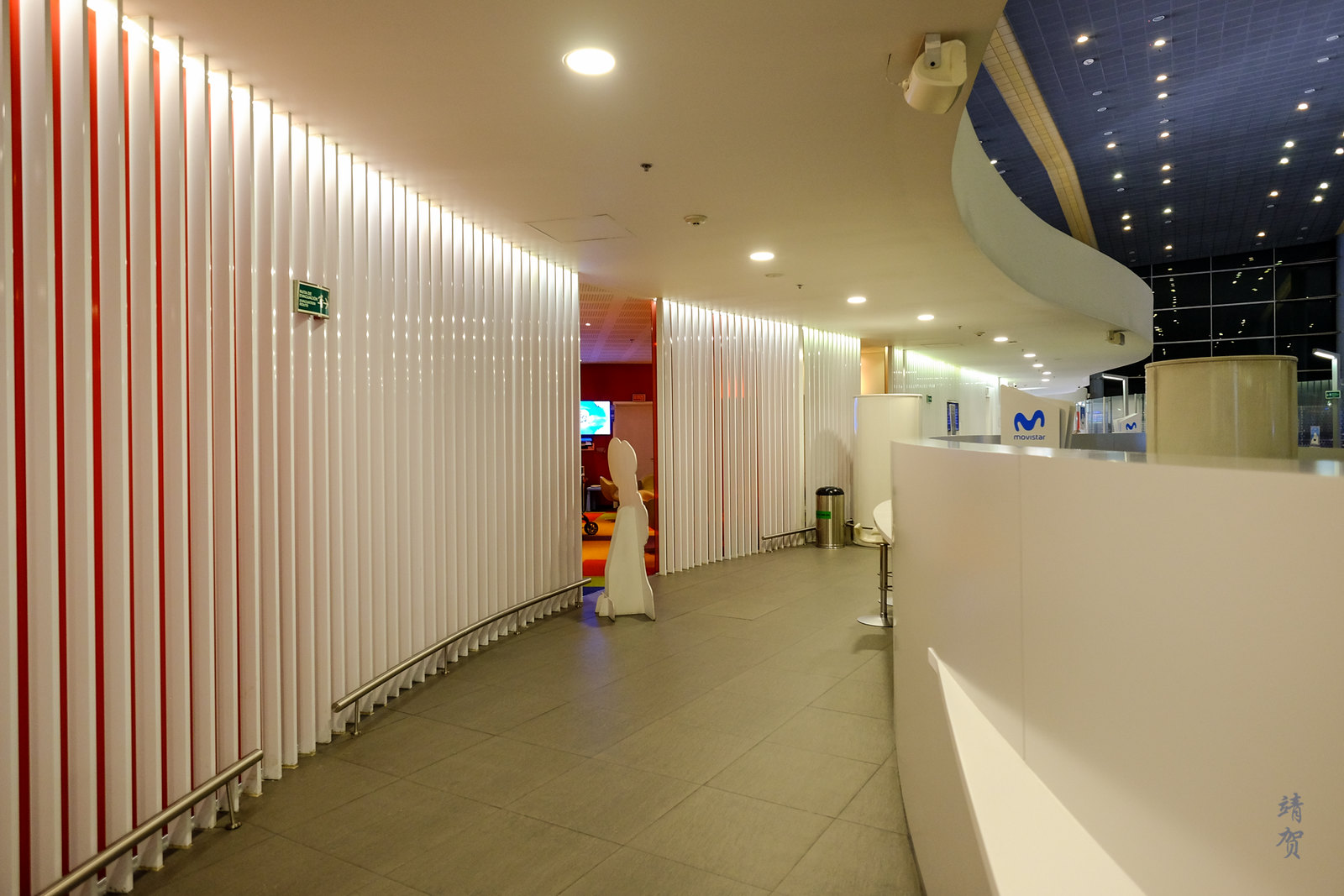 Walkway in the lounge