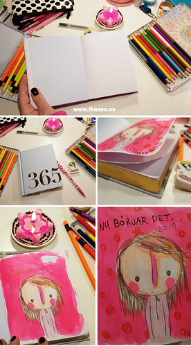 It starts now | The first page of a 365 Notebook from Kikki.K | by iHanna