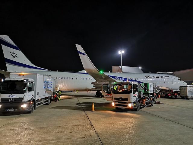 4X-EHF 737-900 ELAL LHR