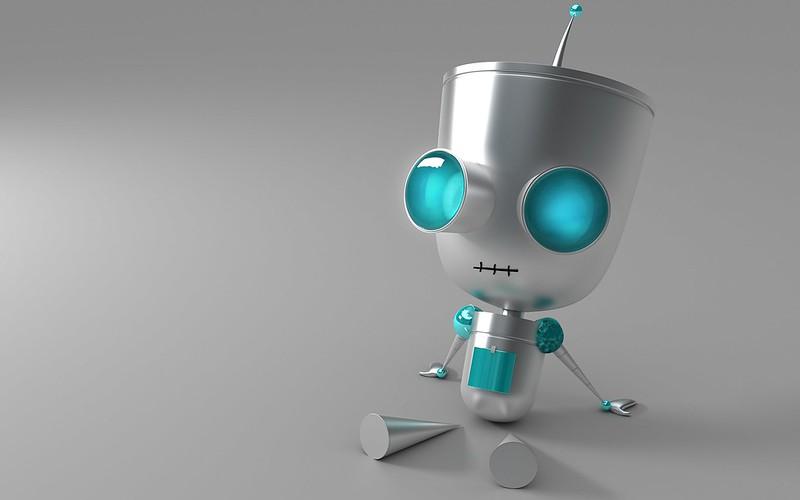 Обои робот, глаза, металл картинки на рабочий стол, фото скачать бесплатно