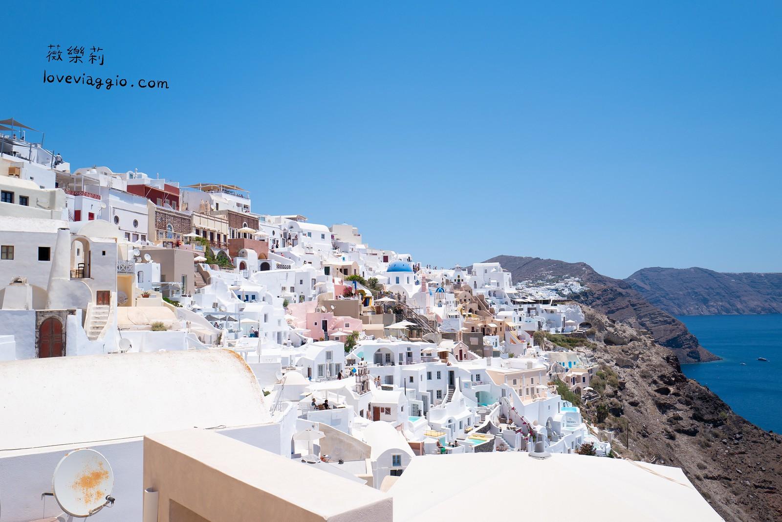 【希臘聖托里尼 Santorini】伊亞Oia 全世界最美的愛琴海小島 @薇樂莉 Love Viaggio   旅行.生活.攝影