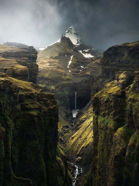 Múlagljúfur Canyon, Iceland.