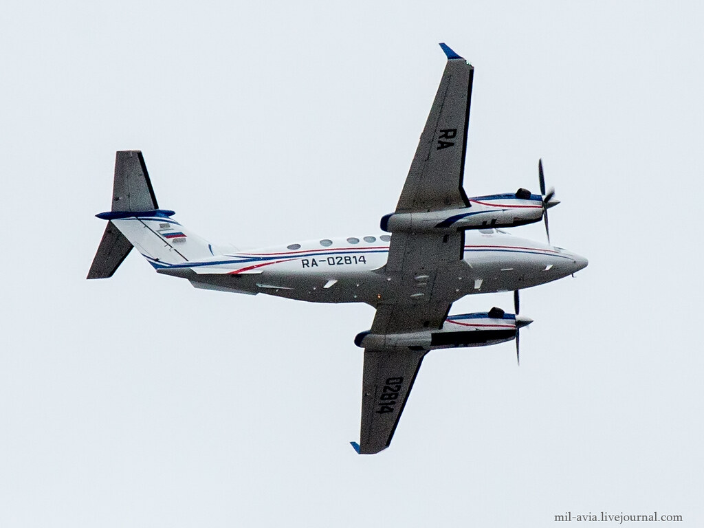 RA-02814 King Air B300