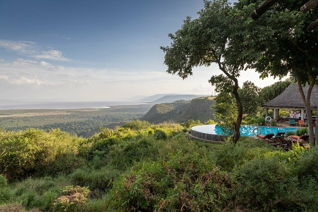 Infinity Pool On The Great Rift Valley