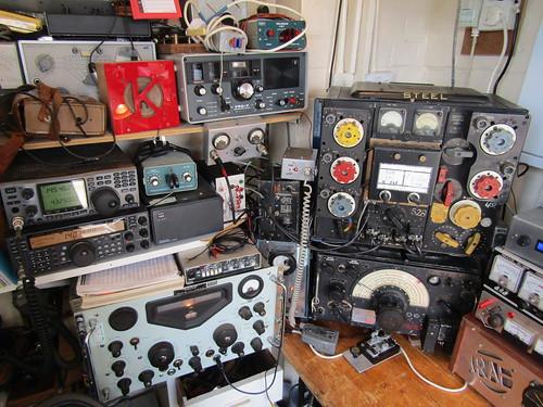 Ham Radio Shack | by Gary Chatterton 6 million Views