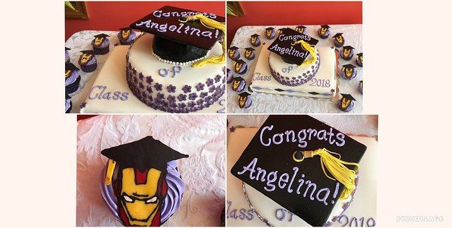 Personalized Graduation Cake